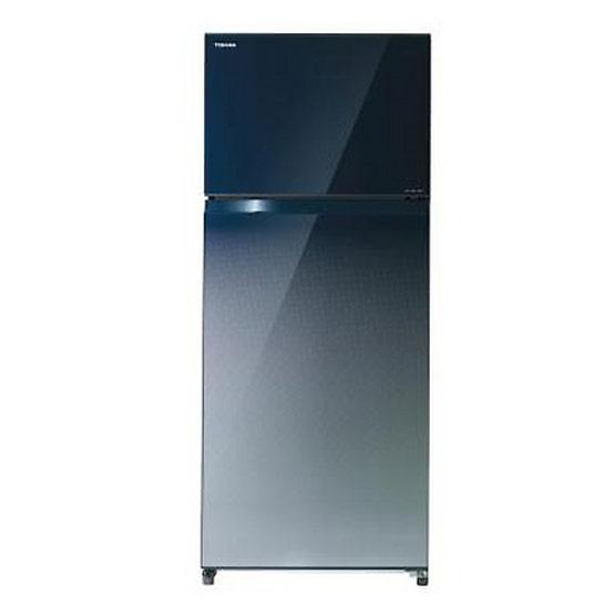 Toshiba ตู้เย็น 2 ประตู ความจุ 18 คิว GR-HG55KDZ(GG)