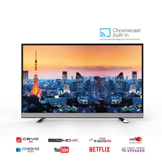 ซื้อ Toshiba 4K ChromeCast TV 43