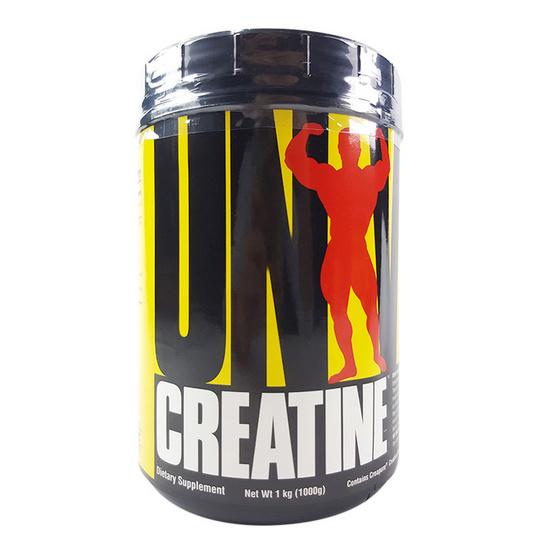 Universal Creatine Powder 1000g. เพิ่มกำลัง ความแข็งแรง ทนทาน และลดอาการเมื่อยล้าของกล้ามเนื้อ