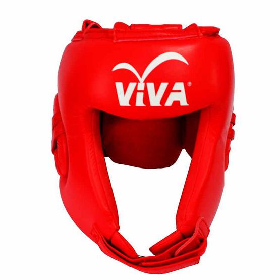 VIVA เฮดการ์ดมวย Micro Fiber สีแดง Size. L