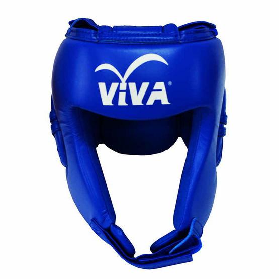 VIVA เฮดการ์ดมวย Micro Fiber สีน้ำเงิน Size. L
