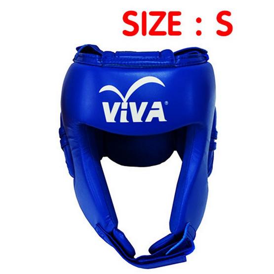 VIVA เฮดการ์ดมวย Micro Fiber สีน้ำเงิน Size. S