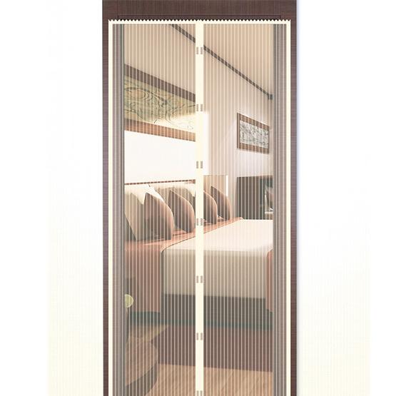 WSP ม่านประตูกันยุงและแมลงขนาด 90 X 210 ซม. สีเบจ