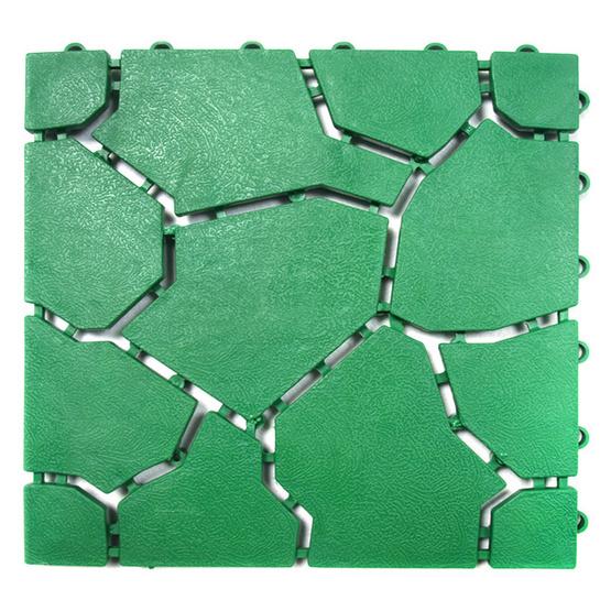 WSP BM-65 สีเขียว แผ่นกันลื่นสารพัดประโยชน์ รุ่น ลายหินใหญ่
