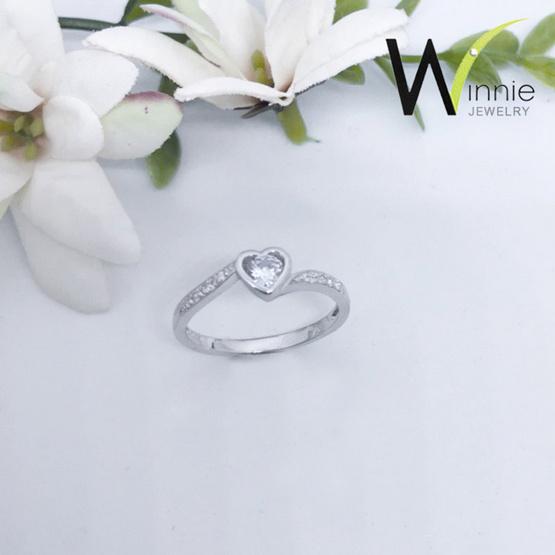 Winnie Jewelry แหวนไดมอนด์ฮาร์ท