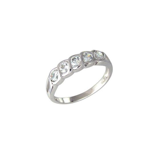 Winnie Jewelry แหวนไลน์ไดมอนด์ MR 153