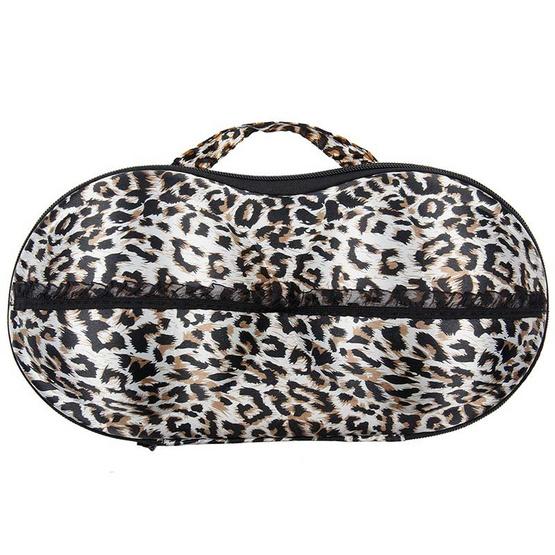 Wolfox กระเป๋าใส่ชุดชั้นใน สีน้ำตาลลายเสือ