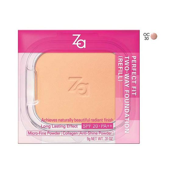 ลดราคา !! ZA Perfect Fit 2way (Refill) 9g #BO10 - Za, ผลิตภัณฑ์ความงาม