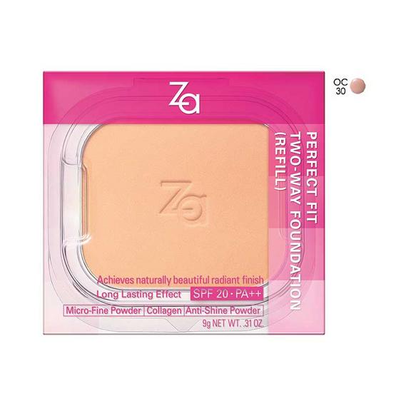 ส่งฟรี !! ZA Perfect Fit 2way (Refill) 9g #OC30 - Za, ผลิตภัณฑ์ความงาม