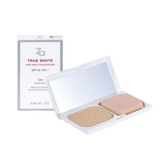 ราคาส่ง !! ZA True White 2way Foundation 9g SPF20++ #21 - Za, ผลิตภัณฑ์ความงาม