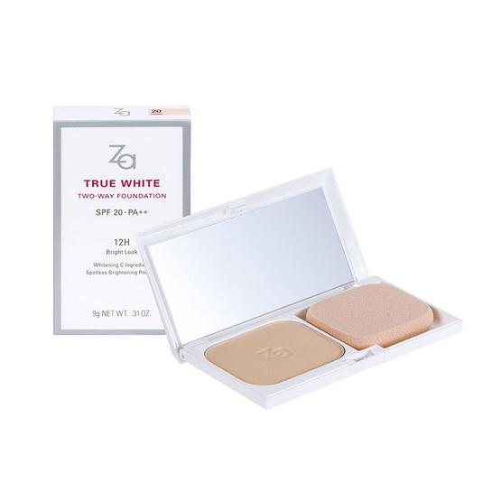 ซื้อที่ไหน !! ZA True White 2way Foundation 9g SPF20++ #22 - Za, ผลิตภัณฑ์ความงาม