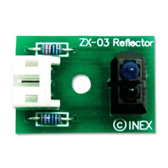 ZX-03 แผงวงจรตรวจจับอินฟราเรดสะท้อน