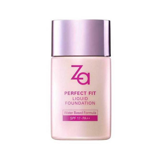 พร้อมส่ง !! Za Perfect Fit Liquid Foundation 30ml #OC10 - Za, ผลิตภัณฑ์ความงาม