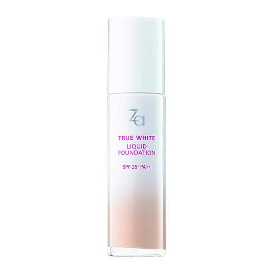 รีวิว !! Za True White EX Liquid Foundation 25ml #OC00 - Za, ผลิตภัณฑ์ความงาม