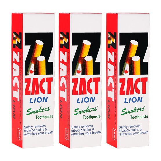 Zact Toothpaste 160g # Smoker Pack3