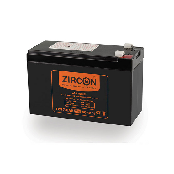 Zircon Battery 12V-7.8Ah
