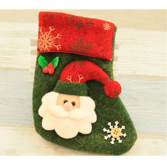 ถุงเท้าคริสมาสต์ ซานต้า