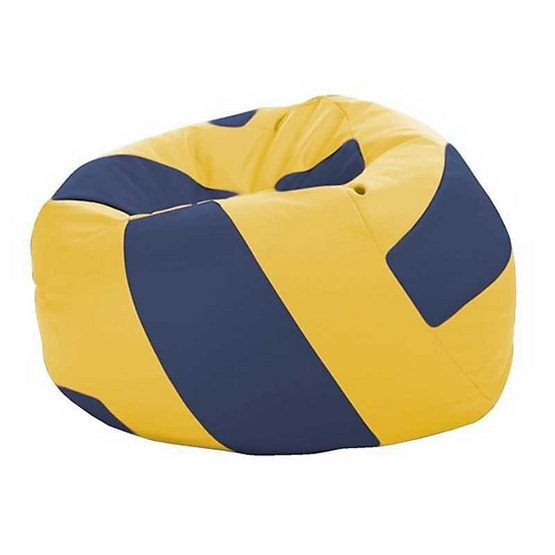 โซฟาเม็ดโฟมวอลเล่ย์บอลน้ำเงินเหลือง