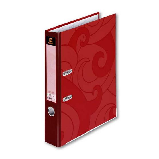 ตราช้างแฟ้มสันแคบ 125F แดง
