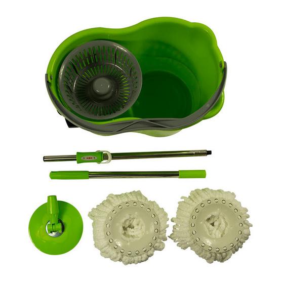 ถังปั่น 360 องศา (2 in 1 easy mop set)