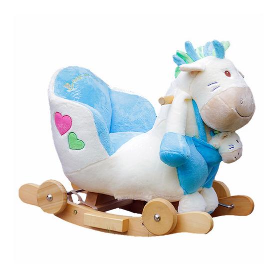 ตุ๊กตาม้าโยก 3 in 1 รุ่น Eric Blue Pony