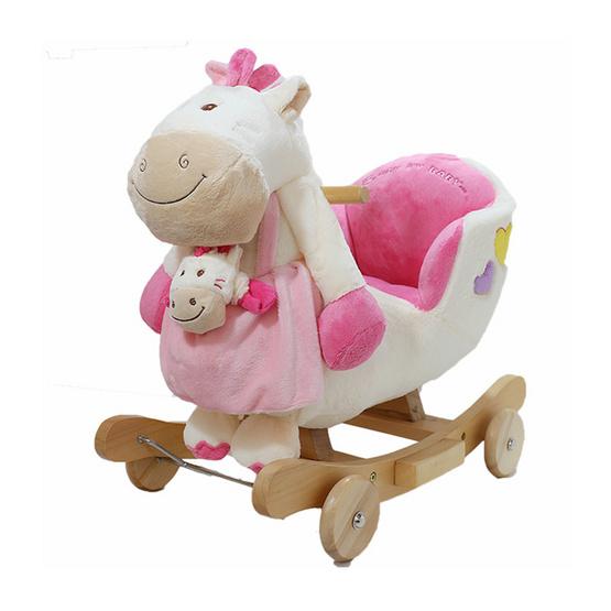 ตุ๊กตาม้าโยก 3 in 1 รุ่น Eric Pink Pony