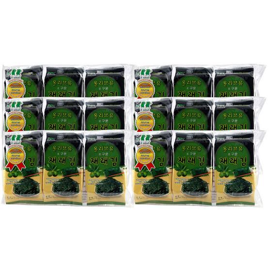 ซีเฟรนด์ สาหร่ายปรุงรสน้ำมันมะกอก 5g. [6 แพ็ค]