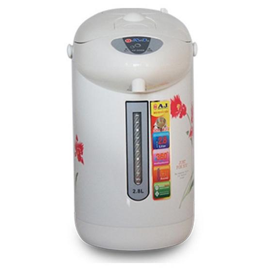 กระติกน้ำร้อนAJ TP-940B 2.8 ลิตร สีขาว