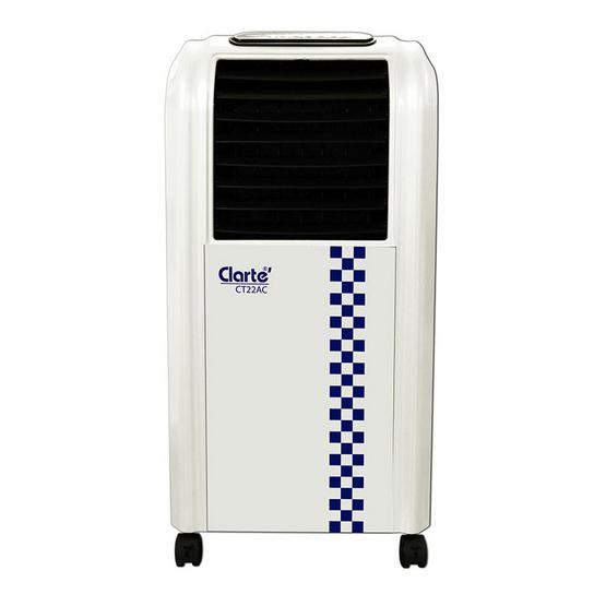 พัดลมไอเย็น Clarte' รุ่น CT22AC/WH 7 ลิตร