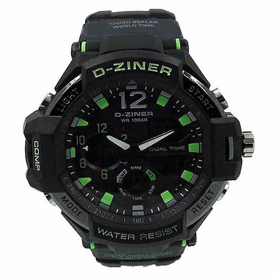 นาฬิกา D-ziner รุ่น DZ8067B เขียวดำ