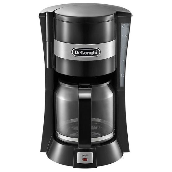 เครื่องชงกาแฟ Delonghi Drip Coffee รุ่น ICM15210 สีดำ