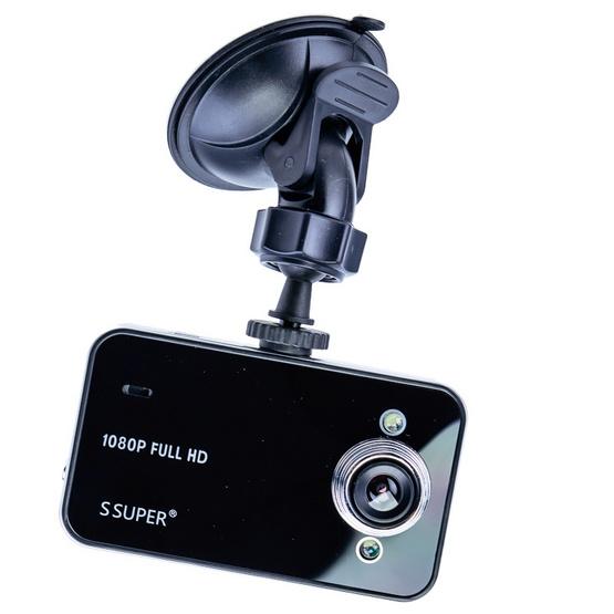 กล้องติดรถยนต์ HD DVR รุ่น K6000 Black