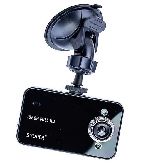 กล้องติดรถยนต์ รุ่น K6000 BLACK 1 แถม 1