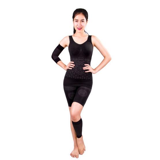 ชุดกระชับสัดส่วน LALITA Slimming Shape 5 ชิ้น สีดำ Free Size