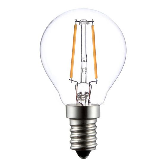 หลอดไฟ LED FILAMENT BALLBULB 3w ขั้ว E14 ยี่ห้อ ledonhome WarmWhite