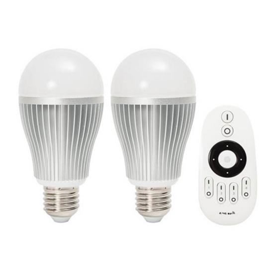 ชุดหลอดไฟ LED iLightPlus รุ่น 2in1 2 หลอดพร้อมรีโมท (9 วัตต์)