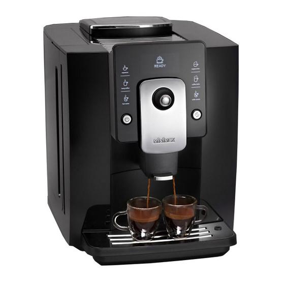 เครื่องชงกาแฟ (อัตโนมัติ) Minimex  รุ่น Meximo Nero (สีดำ)