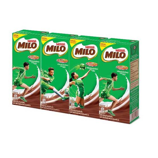 ไมโล นม UHT ขนาด180ml. (ขายยกลัง) (48 กล่อง)