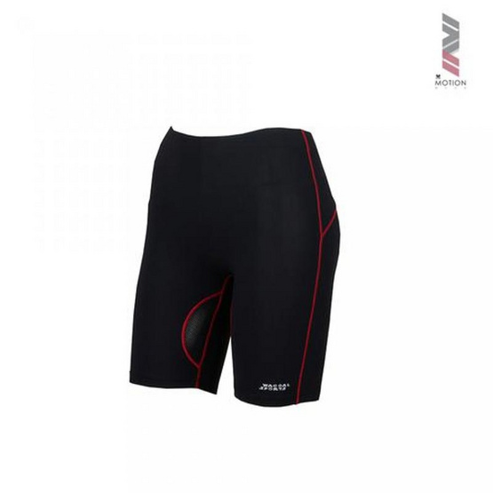 วาโก้ กางเกงออกกำลังกายขาสั้น รุ่น WR7101สีแดง