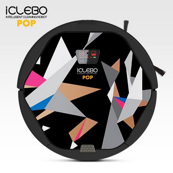 หุ่นยนต์เครื่องดูดฝุ่น iClebo Pop รุ่น YCR-M05-P3 multicolor