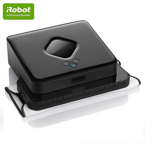 หุ่นยนต์ถูพื้น iRobot รุ่น Braava 380t สีดำ