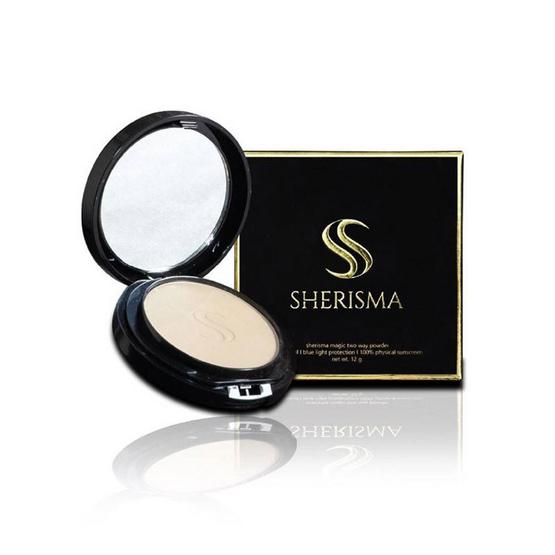 ของแท้ !! เชอร์ริสม่า magic two way powder SPF30 12 กรัม No3 - Sherisma, ผลิตภัณฑ์ความงาม