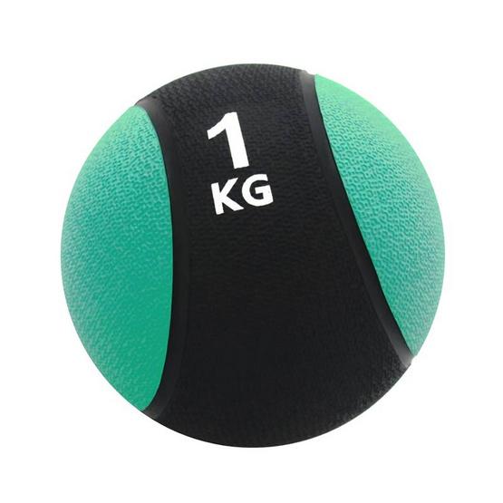 a bloom ลูกบอลน้ำหนัก ออกกำลังกาย น้ำหนัก 1 กก. สีฟ้า (Medicine Ball)