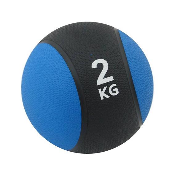a bloom ลูกบอลน้ำหนัก ออกกำลังกาย น้ำหนัก 2 กก. สีน้ำเงิน (Medicine Ball)