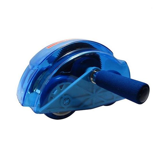 a bloom เครื่องออกกำลังกายลดหน้าท้อง สีน้ำเงิน (Roller Slide/ Ab Slide)