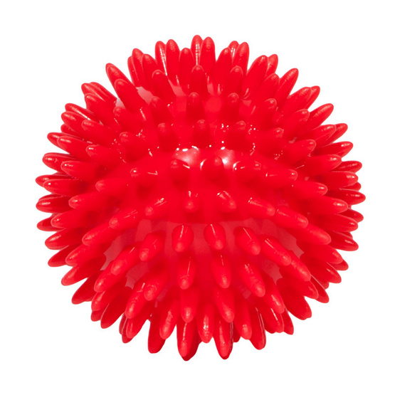 a bloom ลูกบอลนวด บริหารร่างกาย สีแดง (SPIKY MASSAGE BALL)