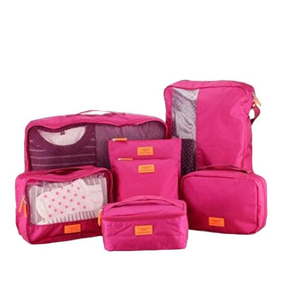 bags in bag ชุดเซตจัดระเบียบในกระเป๋าเดินทาง 1 เซต มี 7 ใบ รุ่น BB50