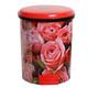 ตัวนอกดำฝาสีแดง  ลายดอกกุหลาบ