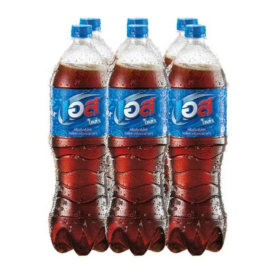 est เอส โคล่า ขนาด 1.6 ลิตร (ขายยกลัง) (6 ชิ้น)