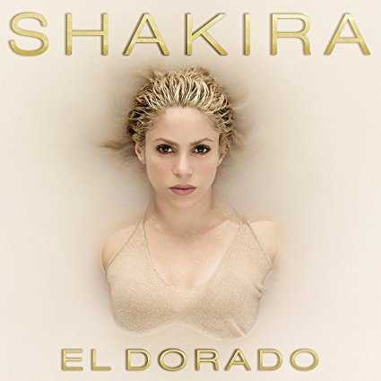 CD shakira EL DORADO